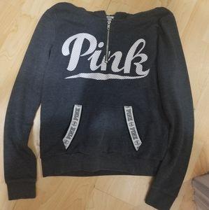 PINK Quarter-Zip Hoodie